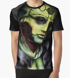 """Thane Krios"" Classic T-Shirts by YumiKoyuki | Redbubble"