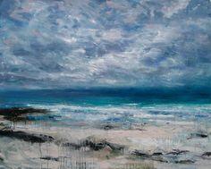 Camusdarach Beach by Jonathan Shearer Waves, Beach, Artwork, Artist, House Ideas, Painting, Outdoor, Image, Decor