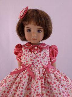 "School Dress for 13"" Effner Little Darling Doll by Apple"