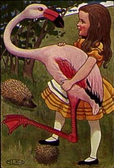 CLASSIC - Alice In Wonderland - Chapter 8 - Multiple Illustrators Featured