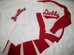 Vtg~DEHEN~Knitting Co~60-70s~Cheerleader~Letterman~2-Sweaters~Skirt Sz 38 M~Set   eBay
