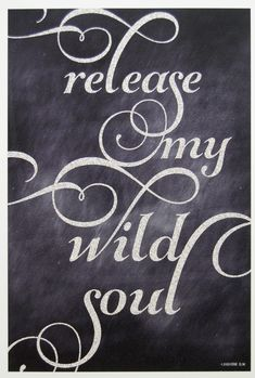 I've settled down but my soul never will.