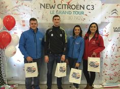 Waterford Hurler Barry Coughlan popped down to see us here at #BolandsCitroen for their #LeGrandTour launch  #WLRFM #Waterford #citroen
