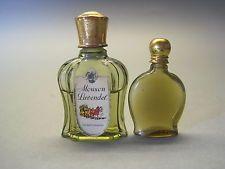 2 niedl., sehr alte Miniflakons, Parfum, Mouson Lavendel, uralt, Damenduft, rar