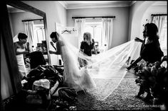 I love a sunny South facing room for when the Bride is in her dress -