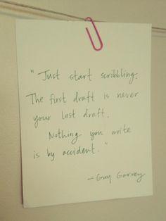 the creative process - guy garvey