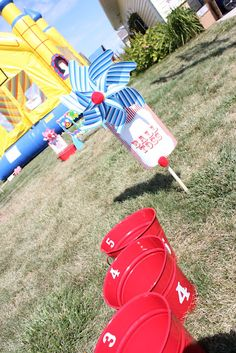 Buckets of Grace: Carnival Party Part VI - Fun and Games
