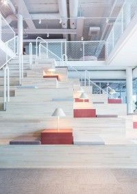 Nethouse- Orebro Staggered Stair/Bench seating