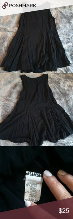 Brandy Melville Black Dress Purchased at Brandy Melville in SF, previous to when all items had Brandy Melville tags Brandy Melville Dresses Mini