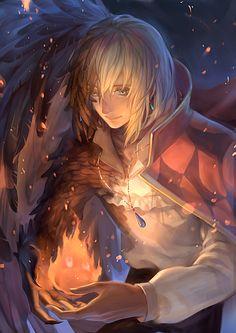 Fire Heart (Howl's moving castle)