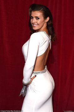 Coronation Street star Kym Marsh crowned Rear of the Year 2015 Beautiful Celebrities, Beautiful Actresses, Gorgeous Women, Brunette Beauty, Hot Brunette, Kym Marsh, Sexy Hot Girls, Sensual, Her Style