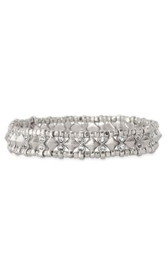 Stella & Dot Arrison Stretch Bracelet - perfect for stacking perfect for a #SDarmparty | #StellaDotStyle | Stella & Dot | Find it at www.stelladot.com