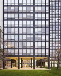 Ludwig Mies van der Rohe (1886-1969) | 860–880 Lake Shore Drive | Chicago | 1949-1951 | Restoration: Krueck & Sexton 2009