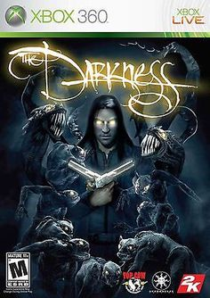 XBOX 360 The Darkness Video Game Live Multiplayer Online Horror Action DISC ONLY