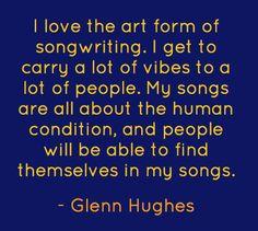 ~ Glenn Hughes @glenn_hughes ~ 2008