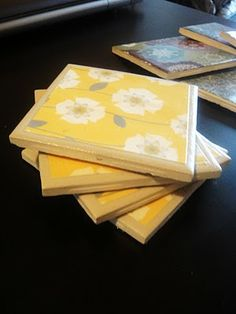 Tutorial: How to make coasters