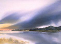 Birgit O'connor - Watercolor Workshops, Watercolor Painting, Art Gallery