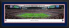 Houston Texans Panoramic Picture - NRG Stadium Panorama - Deluxe Frame $199.95