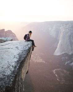 Taft Point, Yosemite National Park, California