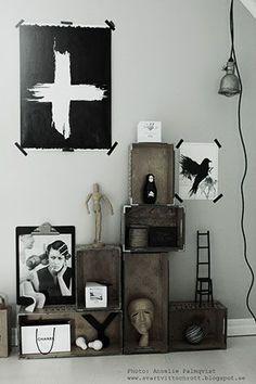 Möt Annelie Palmqvist konstnär och bloggare (via http://Bloglovin.com )