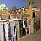 Glass Studio Storage Space