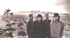 Photo of in the desert with a Joshua tree Music Like, My Music, U2 Band, Larry Mullen Jr, Best Rock Bands, Great Bands, Of My Life, Singer, Couple Photos