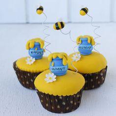 Sin Recetas » Cupcakes Winnie Pooh