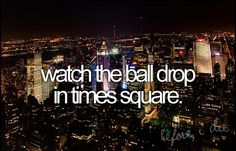 I would love this! I just wanna go to NYC, never been!