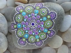 Beach Stones/Painted Stones/Painted Rocks/Beach Decor/Inspirational/Meditation/Decorative Stones