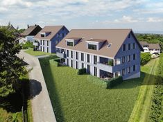 © STOMEO Visualisierungen - Zürich   www.stomeo.ch 3d Modelle, Mansions, House Styles, Home Decor, Birds Eye View, New Construction, Real Estates, Floor Layout, Photo Illustration