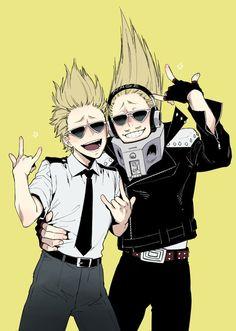Hizashi Yamada (Present Mic): fanarts Boku No Academia, Buko No Hero Academia, My Hero Academia Memes, Hero Academia Characters, My Hero Academia Manga, Bts Anime, Anime Guys, Manga Anime, Anime Villians