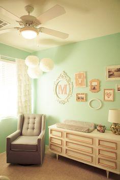 Photo wall nursery