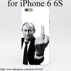 818M Russia President Vladimir Hard White Cover Case for iPhone 7 7 Plus 6 6s 6 6s plus 5 5s SE 5C 4s clinton