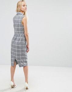 ASOS | Платье в решетчатую клетку ASOS