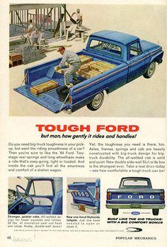 parts La pickup vintage ford