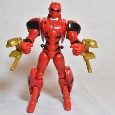 Red Ranger Jungle Fury 2007 Animorphin Red Ranger