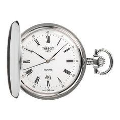 Tissot Men's T83.6.553.13 Savonnettes Pocket Watch