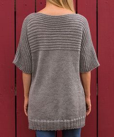 This lighter weight version of Soft Yarn is perfect for easy-going knit wearables. The laid back style is great for layering or for popping on with pants, leggings or jeans. You'll love that it is smooth next to your skin and its easy wash ability.
