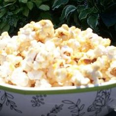 State Fair Kettle Corn -This will be an instant family hit; a bowl of the pop corn is so good it won't last a whole movie