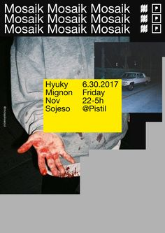 Mosaik: Sojeso Mood - CY — Graphic designer