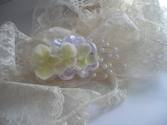 Orchid Bridal Hair Accessory