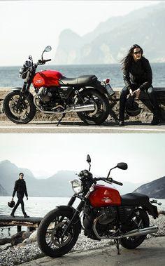 Moto Guzzi V7 Stone Campaign - 2014
