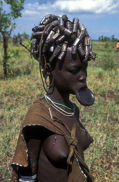 Mursi woman 3, Ethiopia | by Jose Luis Trisan - www.clubtrotamundos.com