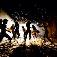Grown up pillow fight! Want to do this someday soon.~Tyler Shields