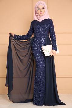 Commandez 2019 Women Abaya Koran Muslim Kaftan Hijab Burqa Lace Long Sleeve Islamic Maxi Dress sur Wish - Acheter en s'amusant Hijab Evening Dress, Hijab Dress Party, Chiffon Evening Dresses, Chiffon Dress, Abaya Mode, Mode Hijab, Maxi Outfits, Abaya Fashion, Fashion Dresses