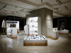 Backyard by Nendo__Display Scheme Unifies Assorted Products
