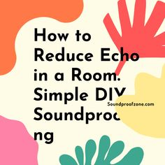 How to Reduce Echo in a Room. Simple DIY Soundproofing Simple Diy, Easy Diy, Bass Trap, Foam Panels, Arthritis Relief, Sound Absorbing, Stack Of Books, Sound Proofing, Marketing Ideas