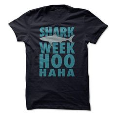 Shark Week Hoo Ha Ha T Shirts, Hoodie. Shopping Online Now ==► https://www.sunfrog.com/No-Category/Shark-Week-Hoo-Ha-Ha.html?41382