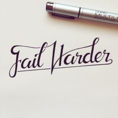 Franz Jietz takes us from A to Z: Fail Harder