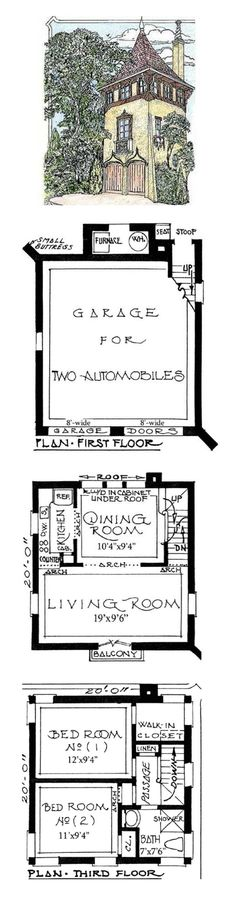 Architectural Designs ~ Romantic Carriage House Plans